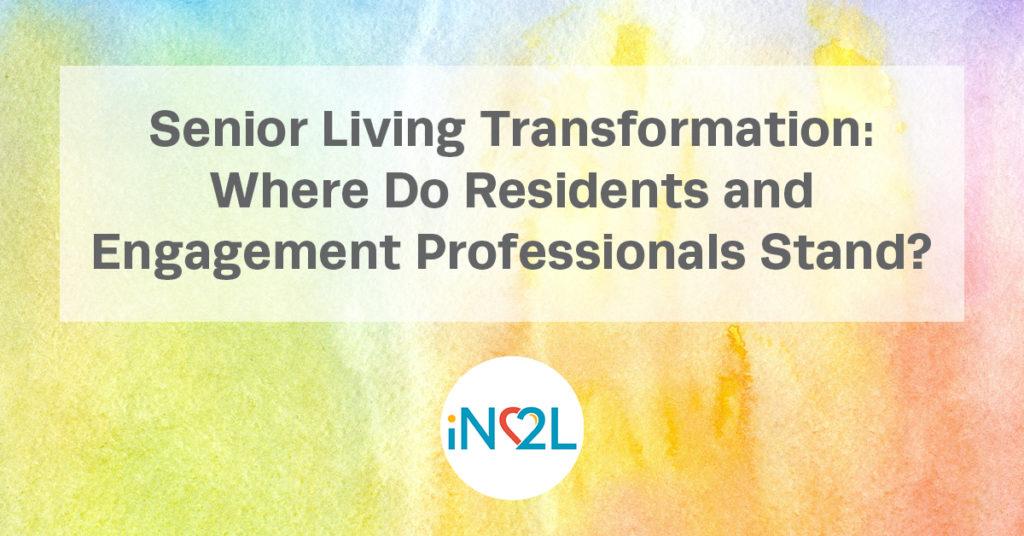 Blog post about senior living transformation
