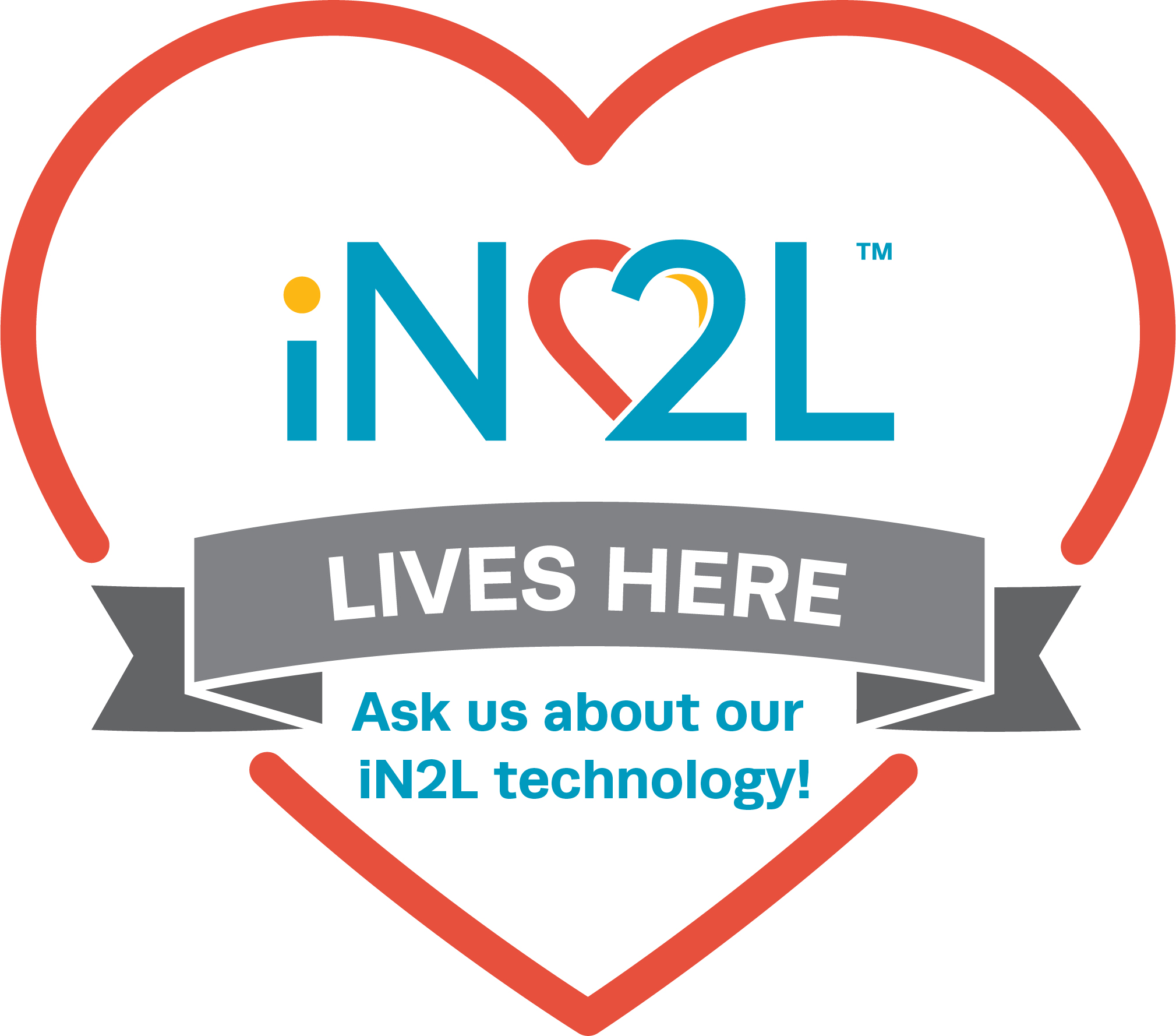 iN2L Lives Here badge